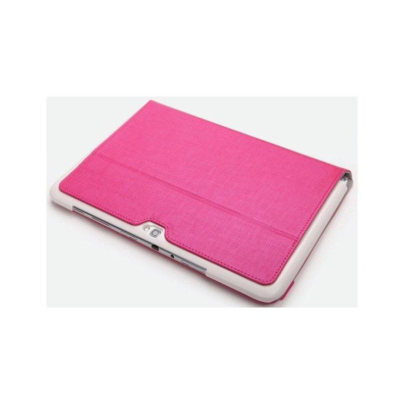 Кожаный чехол Rock Flexible series для Samsung Galaxy Note 10.1 N8000 Pink