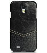 Кожаная накладка TETDED Venus Series для Samsung i9500 Galaxy S4 Black