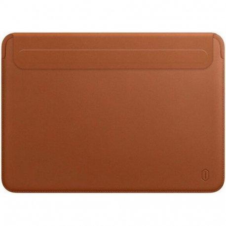 Чехол WIWU Skin Pro II Leather Sleeve для MacBook Air 13/Pro 13 Brown