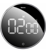 Таймер Baseus Heyo Rotation Countdown Timer Black (ACDJS-01)