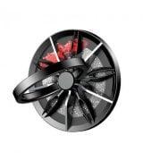 Кольцо-держатель Baseus wheel Ring Bracket Black+Silver (SULG-B1S)