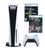 Игровая консоль Sony PlayStation 5 + Returnal + Demon's Souls Remake