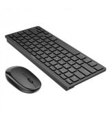 Беспроводная клавиатура + мышь Hoco DI05 White