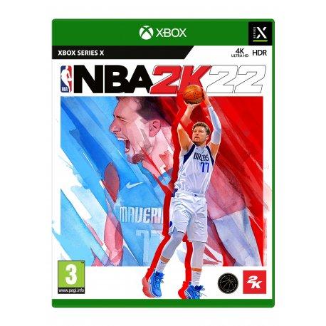 Игра NBA 2K22 (Xbox Series X, Английская версия)