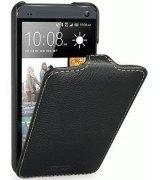 Кожаный чехол Tetded Flip для HTC One Dual SIM 802w Black