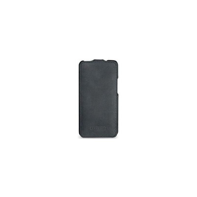Кожаный чехол Tetded для HTC One Dual Sim 802w Storm Grey