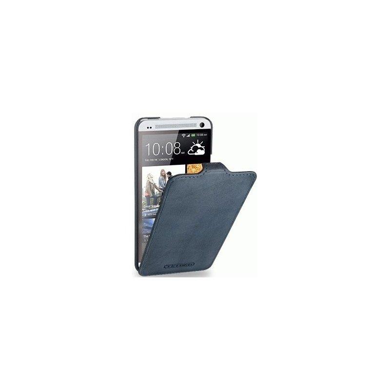 Кожаный чехол Tetded Nature для HTC One Dual Sim 802w Ocean Blue
