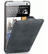 Кожаный чехол Tetded Nature для HTC One Dual Sim 802w Storm Grey