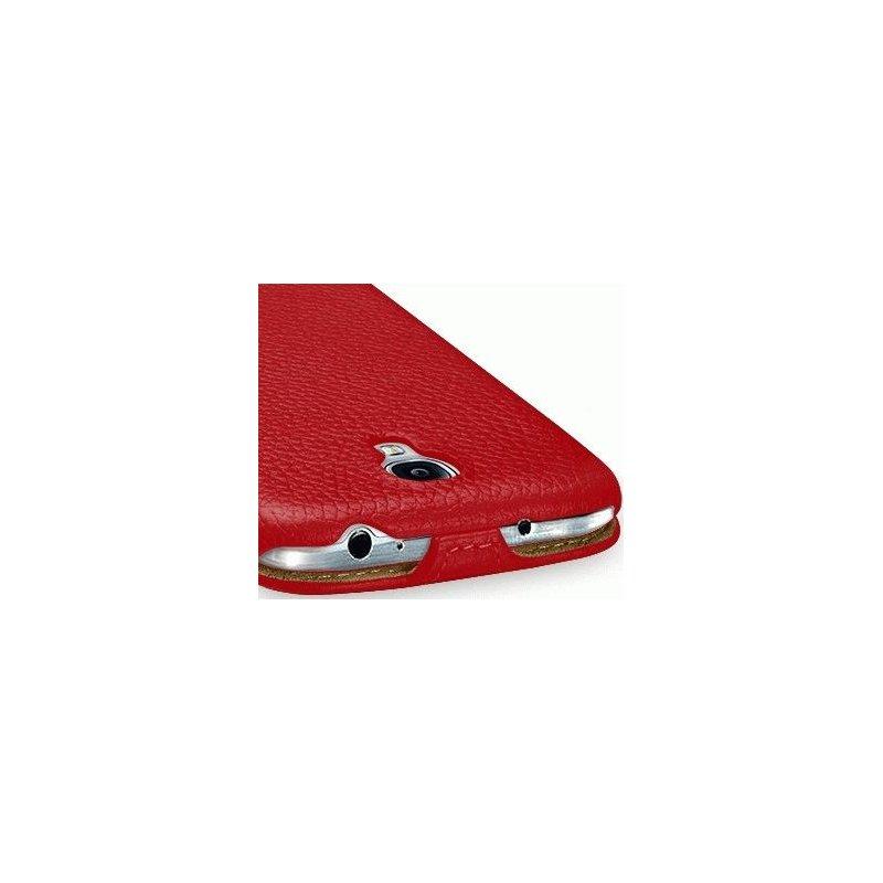 Кожаный чехол Tetded Flip для Samsung Galaxy S4 i9500 Red