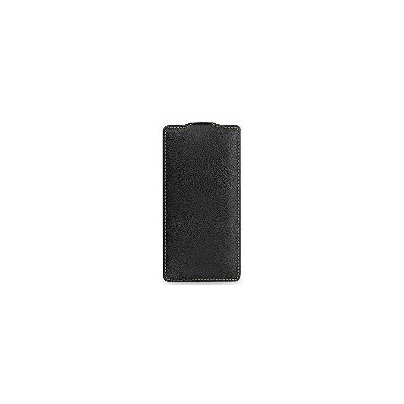 Кожаный чехол Tetded Flip для HTC Desire 600 Black