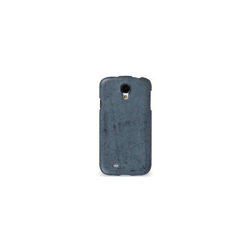 Кожаный чехол Tetded Nature для Samsung Galaxy S4 i9500 Ocean Blue