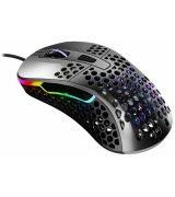 Мышь игровая Xtrfy M4 RGB USB Glossy Gray (XG-M4-RGB-GLOSSY)