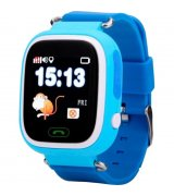 Детские телефон-часы с GPS iQwatch Q-100 (Blue)