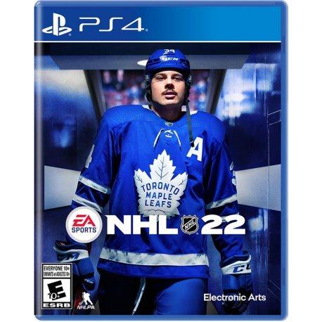 Игра NHL 22 (PS4, Русские субтитры)