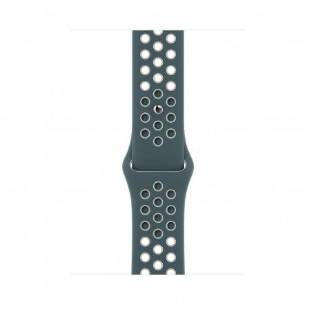 Ремешок для Apple Watch 42/44mm Hasta/Light Silver Nike Sport Band (MJ6K3)