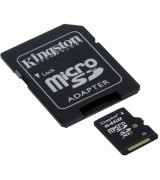 Kingston microSDXC 64GB Class 10 + SD адаптер
