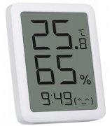 Термогигрометр-часы Xiaomi Miaomiaoce LCD Thermometer Hygrometer White (MHO-C601)