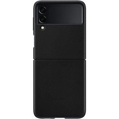 Чехол Samsung Leather Cover для Galaxy Z Flip 3 (F711) Black (EF-VF711LBEGRU)