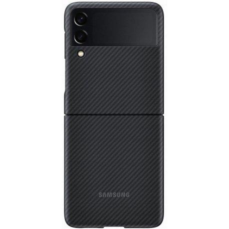 Чехол Samsung Aramid Cover для Galaxy Z Flip 3 (F711) Black (EF-XF711SBEGRU)