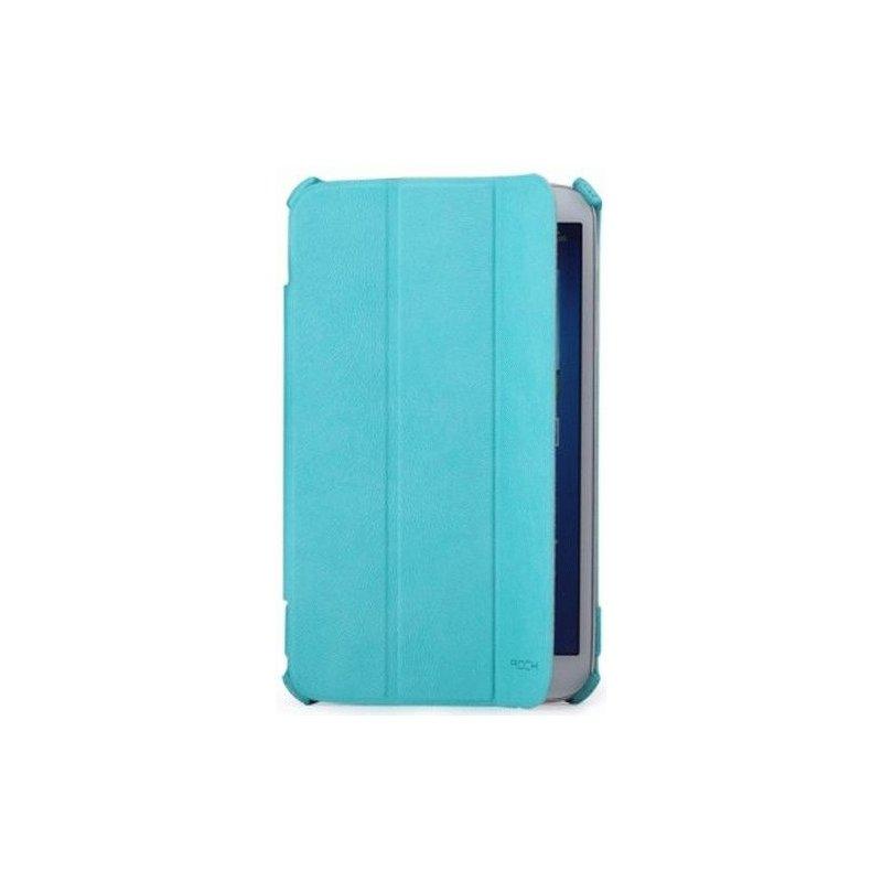 Чехол Rock Texture для Samsung Galaxy Tab 3 8.0 T3100/T3110 Azur
