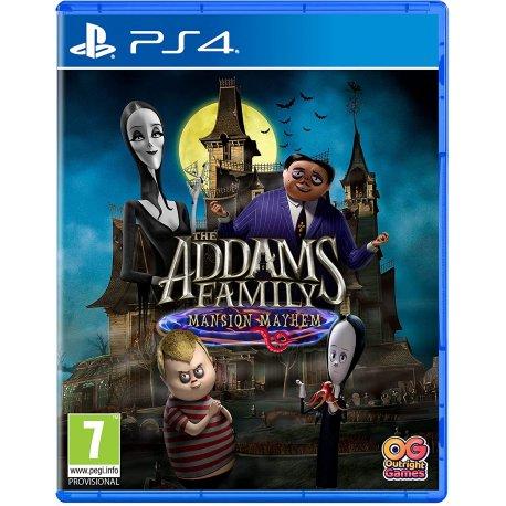 Игра The Addams Family: Mansion Mayhem (PS4, Русские субтитры)
