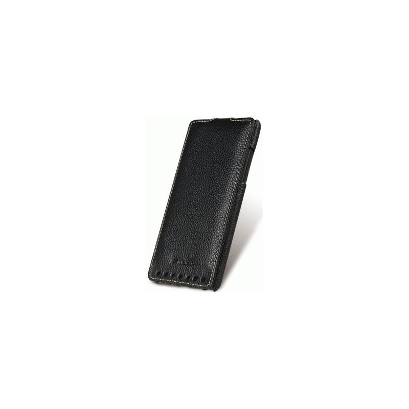 Кожаный чехол Melkco Flip (JT) для HTC Desire 600 Black