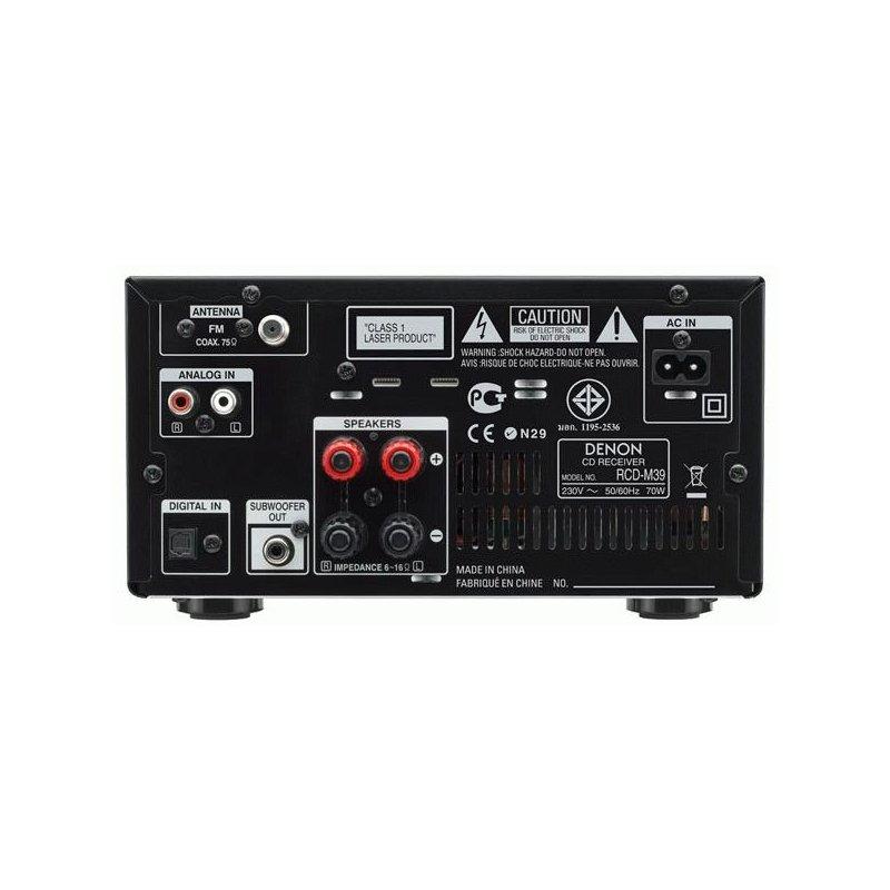 Denon RCD-M39 Black