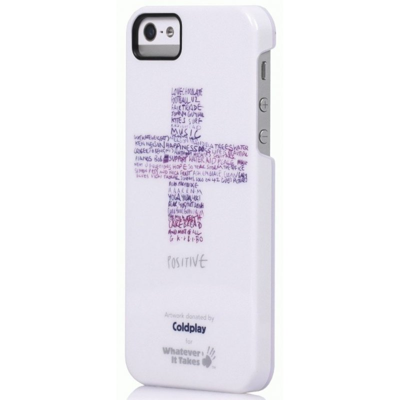 Whatever It Takes Premium Tough Shell Coldplay накладка для IPhone 5 White