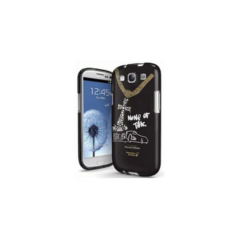 Whatever It Takes Premium Gel Shell Pharell Williams накладка для Samsung Galaxy S3 i9300 Black