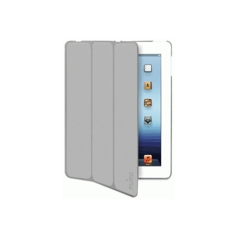 Чехол Puro iPad 2/3 Eco-leather Zeta Cover Grey