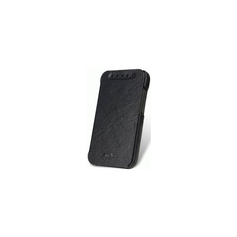 Кожаный чехол Melkco Face Cover Book для HTC Desire 200 Black