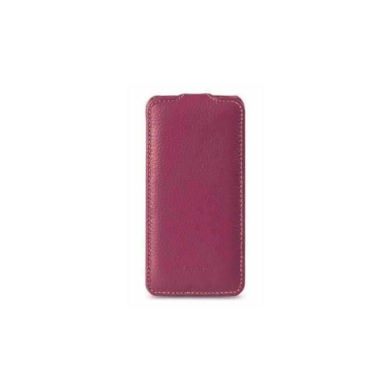 Кожаный чехол Melkco Flip (JT) для HTC Desire SV T326e Purple