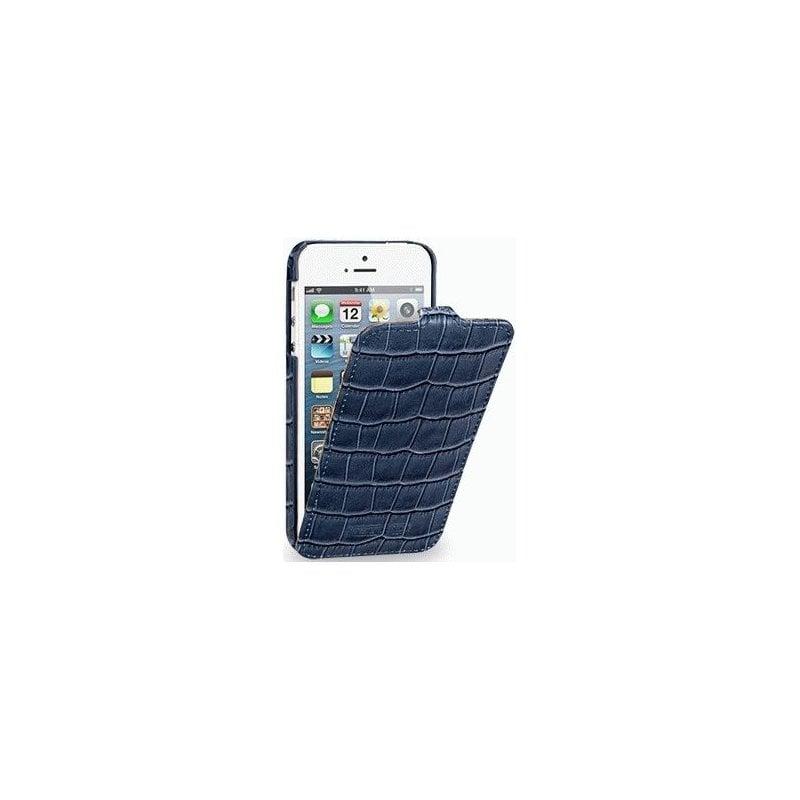 Кожаный чехол Tetded Wild Series для Apple iPhone 5 Blue