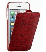 Кожаный чехол Tetded Wild Series для Apple iPhone 5/5S Red