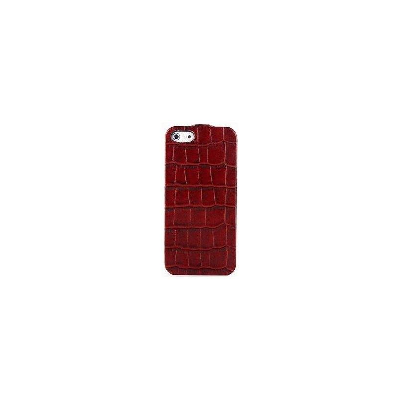 Кожаный чехол Tetded Wild Series для Apple iPhone 5/5S Red