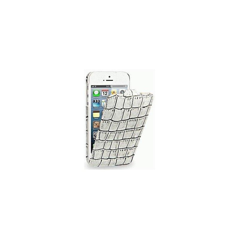 Кожаный чехол Tetded Wild Series для Apple iPhone 5/5S White