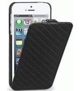 Кожаный чехол Tetded Emboss Series для Apple iPhone 5/5S Black