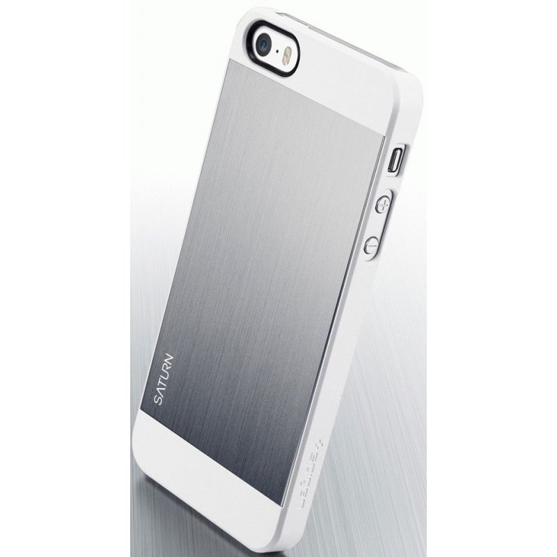 SGP iPhone 5/5S Case Saturn Satin Silver (SGP10141)
