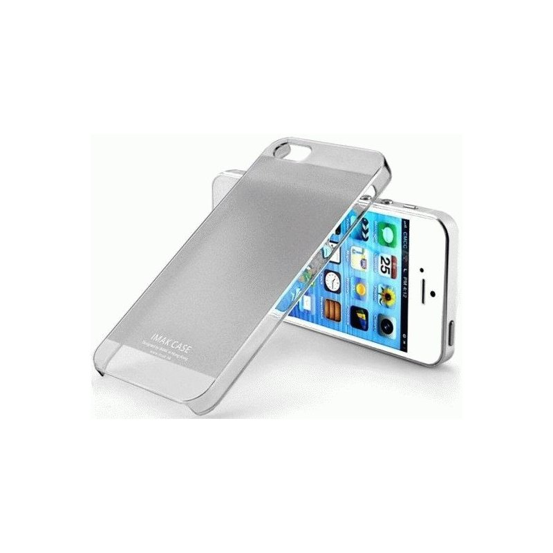 Накладка IMAK Color для Apple iPhone 5/5S Dark Grey