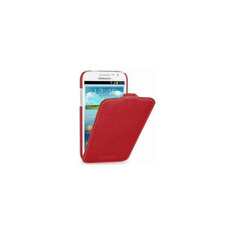Кожаный чехол Tetded Flip для Samsung Galaxy Win i8552 Red