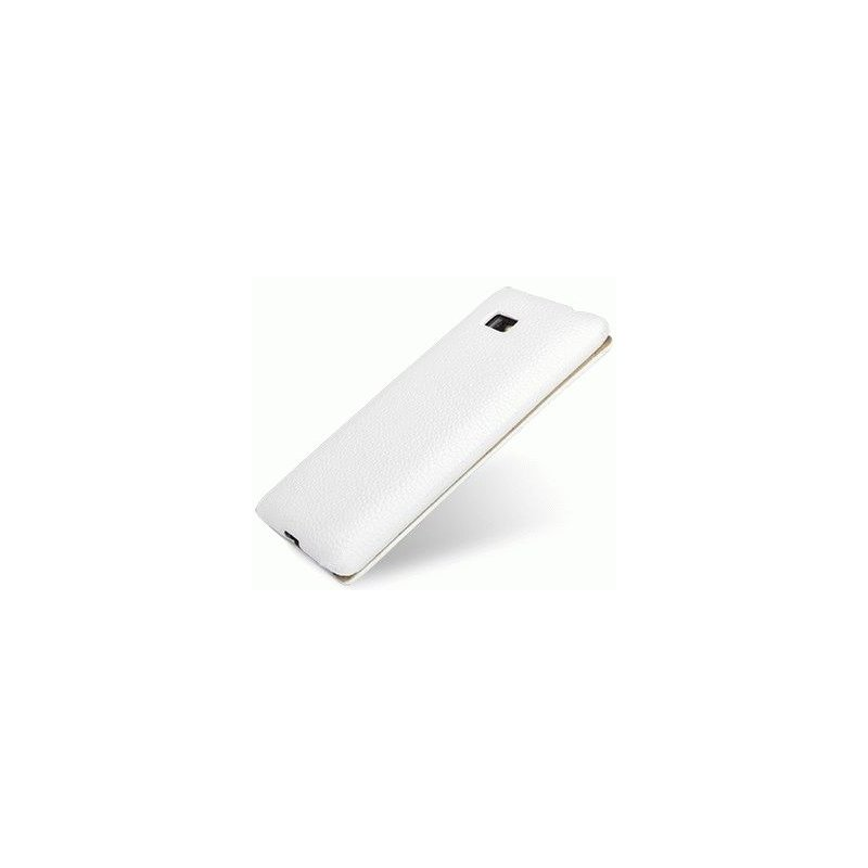 Кожаный чехол Tetded Flip для HTC Desire 600 White