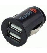 Автомобильное зарядное устройство Griffin Car charger 2 USB Black