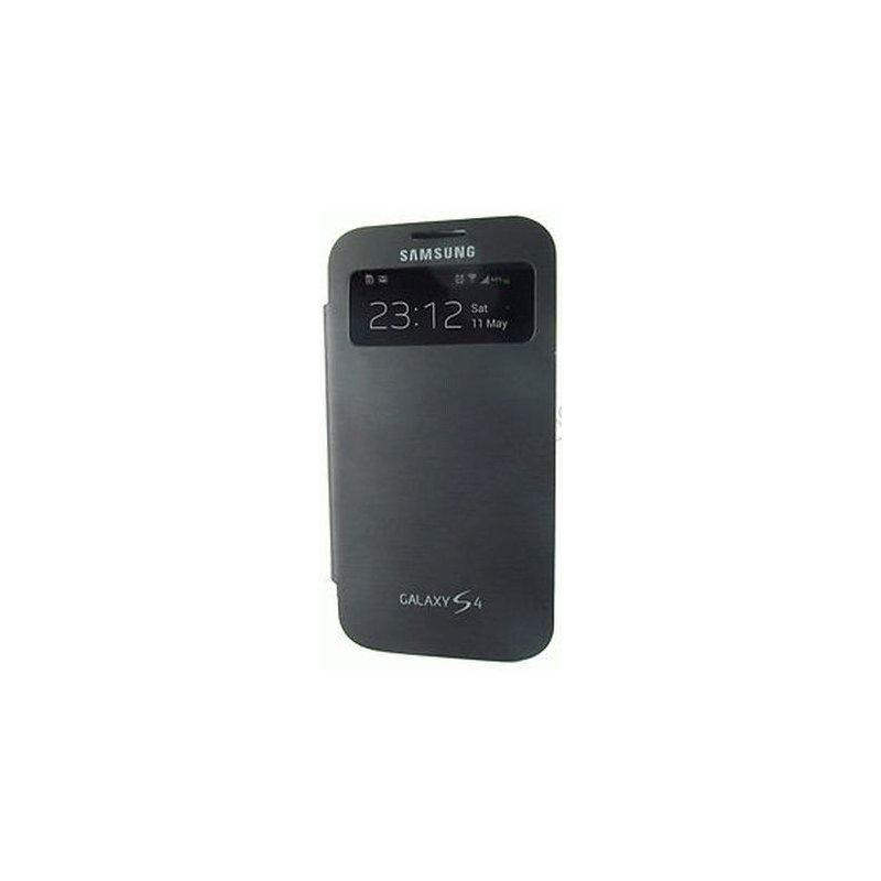 Чехол Flip Cover Case для Samsung Galaxy S4 i9500 Time Black