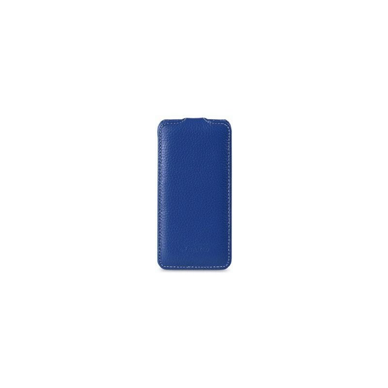 Кожаный чехол Melkco (JT) для HTC Desire V T328w Blue