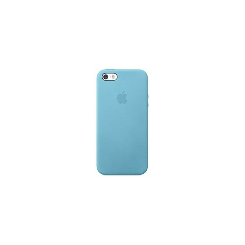 Чехол Apple iPhone 5s Leather Case Blue (MF044)