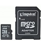 Kingston MicroSD (TransFlash) 32Gb Class 10