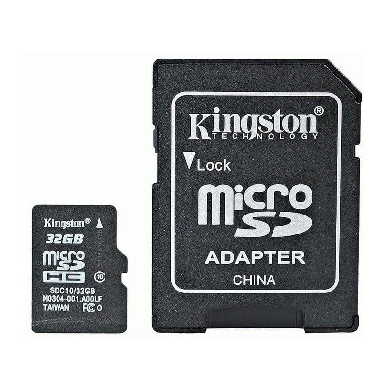 Kingston MicroSD (TransFlash) 32Gb  Class 10