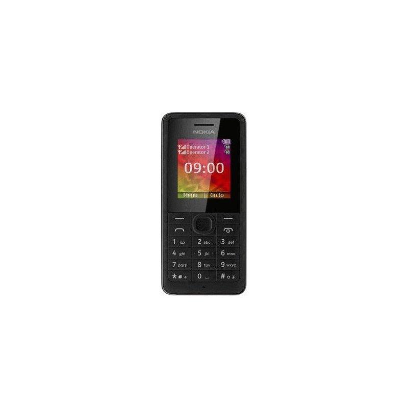 Nokia 107 Dual Sim Black