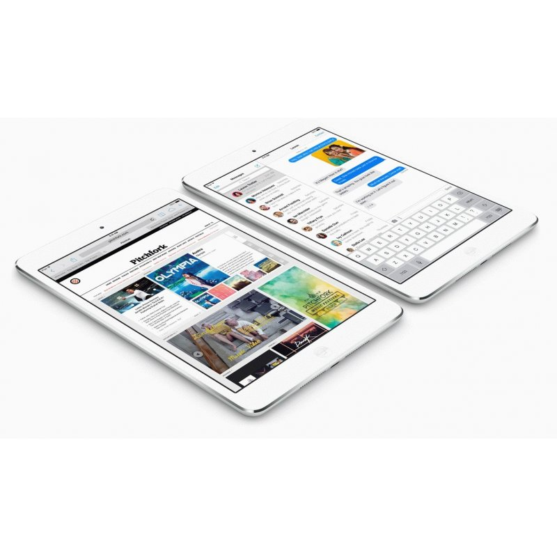 iPad mini with Retina display Wi-Fi + 4G 128GB Silver