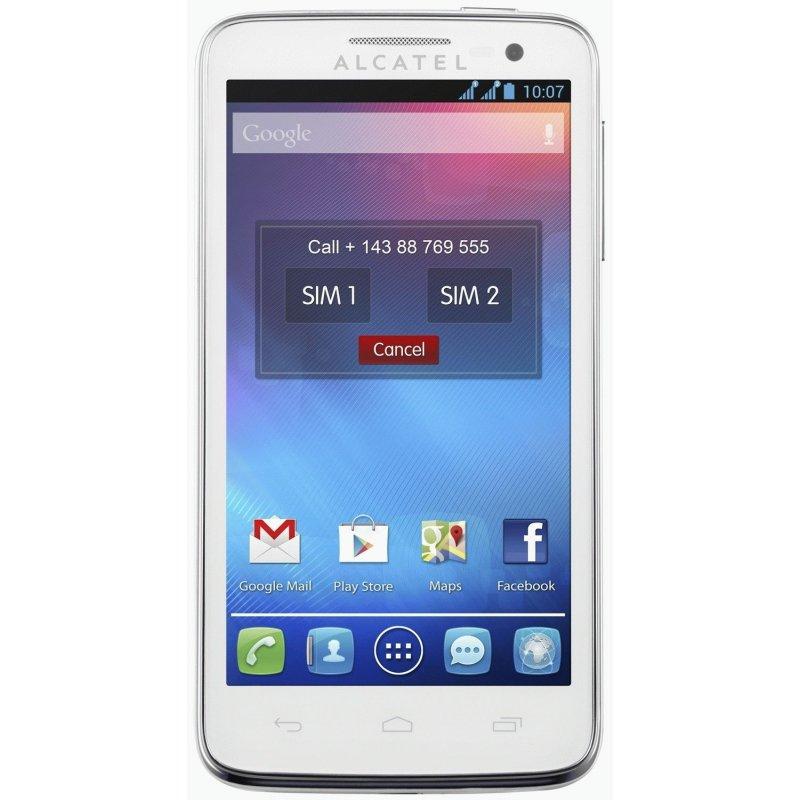 Alcatel One Touch 5035D X-POP Dual Sim Pure White